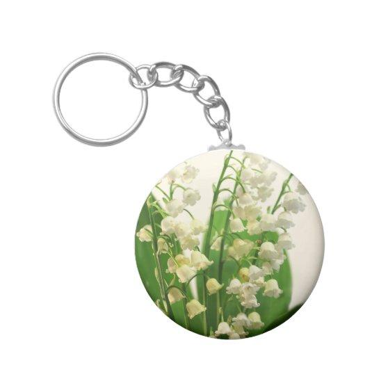 Lily of the Valley Key Chain