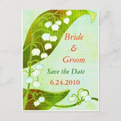 Lily of the Valley: Save-the-Date Wedding