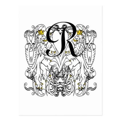 Lion Rampant Renaissance Wedding Cards