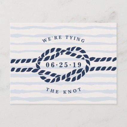 Love Knot Save the Date Announcement