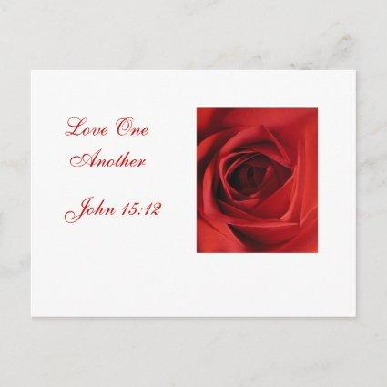 Love One Another Announcements Cards