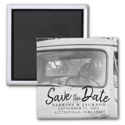 Love Travels Photo - Save The Date Magnet