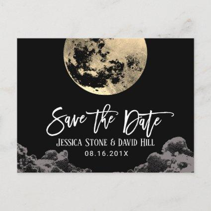 Love You To the Moon & Back Wedding Save the Date Announcement