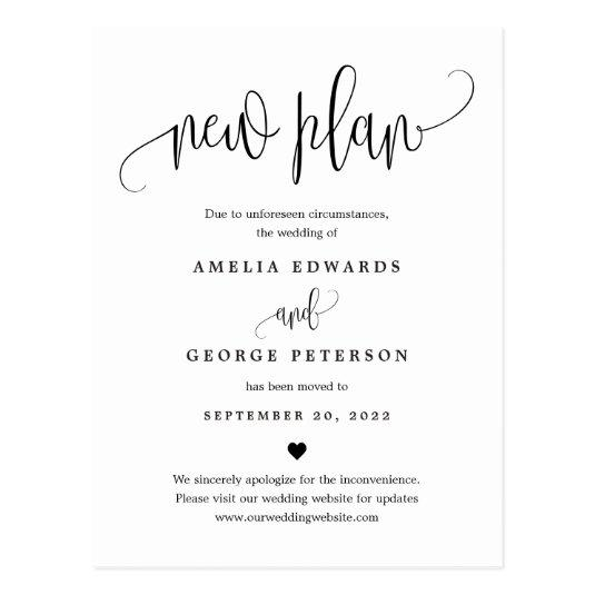 Lovely Calligraphy EDITABLE COLOR Wedding Update