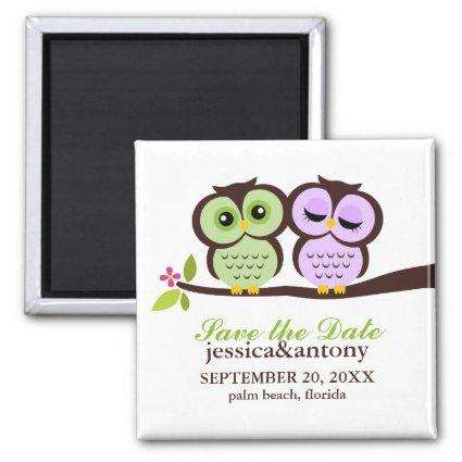 Lovely Owls  Magnets