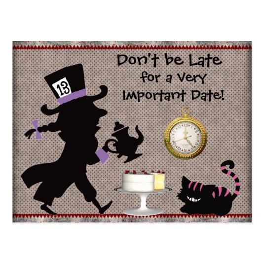 115 Mad Hatter Tea Party Baby Shower Cards