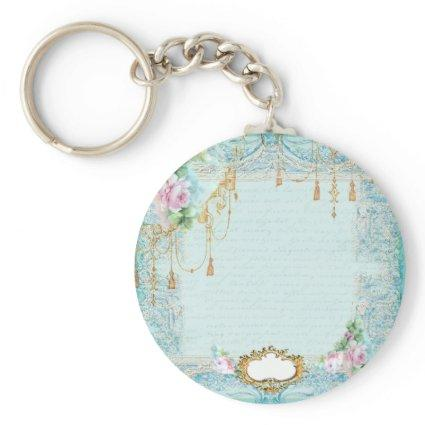 Marie Antoinette Roses and Lace Stationery/ Keychain