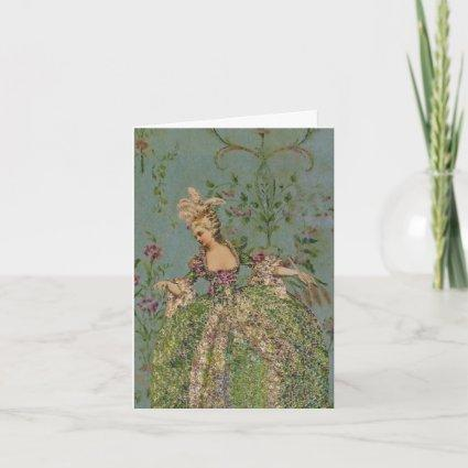 Marie Antoinette SIZE & PAPER OPTIONS - Cards