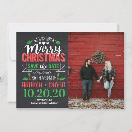 Marry Christmas Save The Date