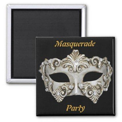 Masquerade Party Save the Date Magnets