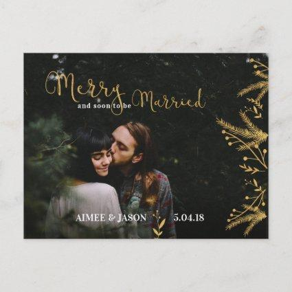 Merry and Soon to be Married Christmas Cards