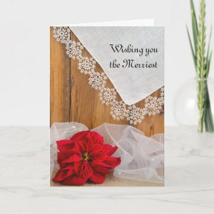 Merry Christmas and Wedding Save the Date Cards