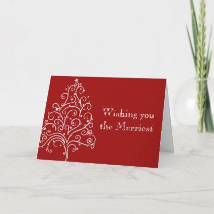 Merry Christmas and Wedding Save the Date Holiday Cards