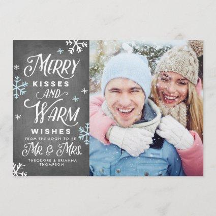 Merry Kisses and Warm Wishes Mr. Mrs. Holiday