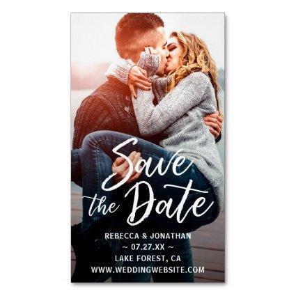 Mini Save the Date Magnets Cheap   25 Pack