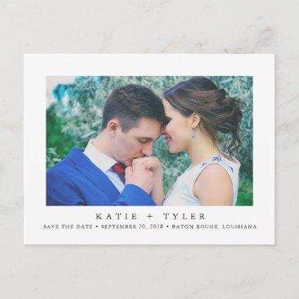 Minimalist Modern Save the Date Announcement