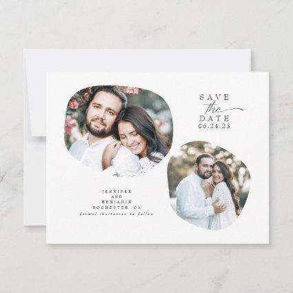 Minimalist Modern Save the Date Photo