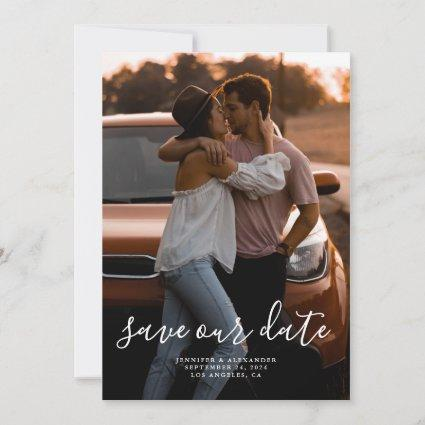 Minimalistic Elegant Save the Date