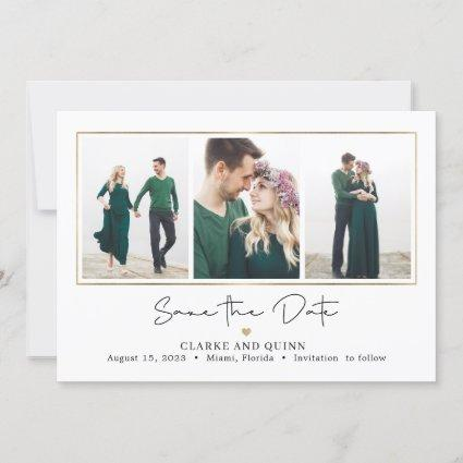 Mod Gallery Editable Color Save The Date Card