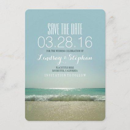 Modern beach wedding
