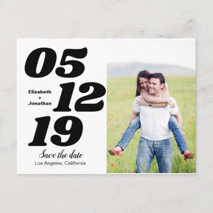 Modern Design Save The Date Cards