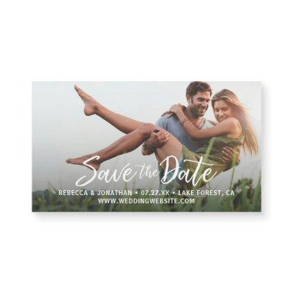 Modern Elegant Wedding Save the Date Magnetss