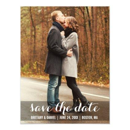 Modern Engagement Magnetic Save The Date Magnetic Invitation