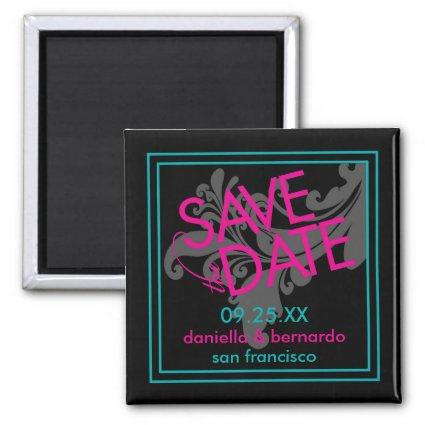 Modern Grace Save The Date Magnets