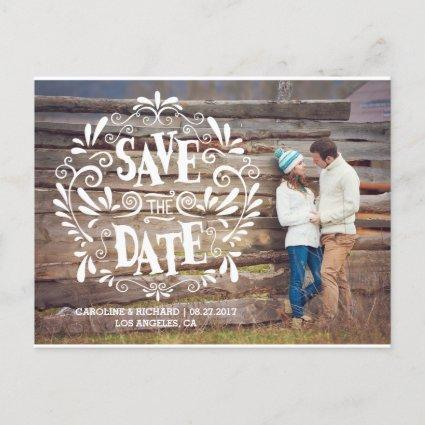 MODERN TYPOGRAPHY | SAVE THE DATE Cards