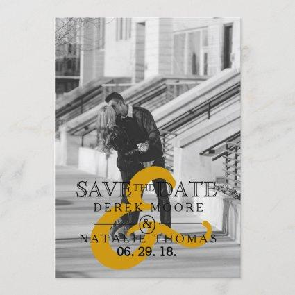 Modern & Urban Minimalist | Save The Date Photo