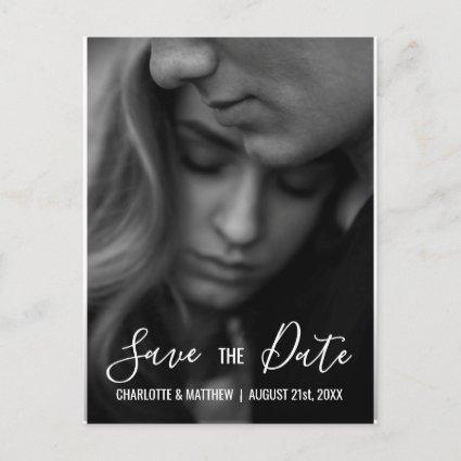 Modern Wedding SAVE THE DATE | Add your PHOTO Announcement