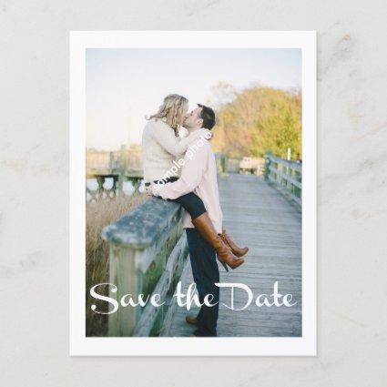 Modern Wedding, Save the Date, Photo Announcement