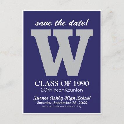 Monogram Class Reunion Save-the-Date
