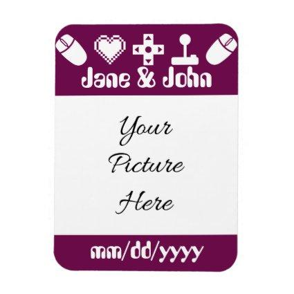 Multiplayer Mode in Wine Save-the-Date Magnet