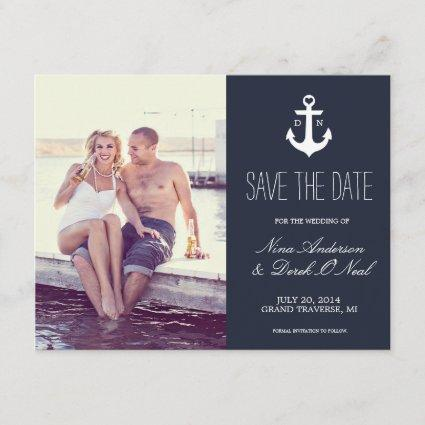 Nautical Save The Date | Wedding