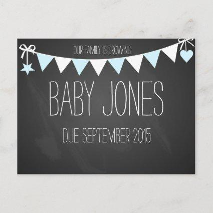 New baby announcement baby photo prop