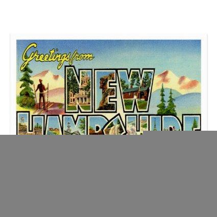 NEW HAMPSHIRE SAVE THE DATE ANNOUNCEMENT S