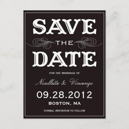 NEW VINTAGE | SAVE THE DATE ANNOUNCEMENT