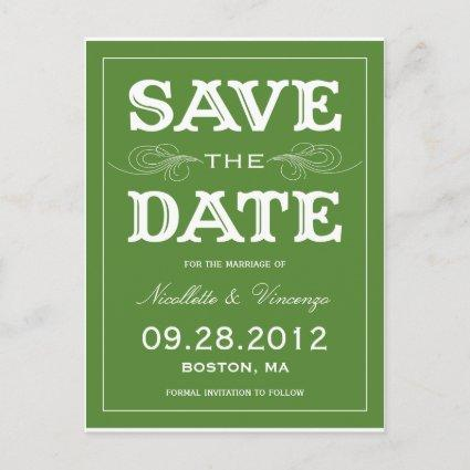 NEW VINTAGE | SAVE THE DATE Announcements
