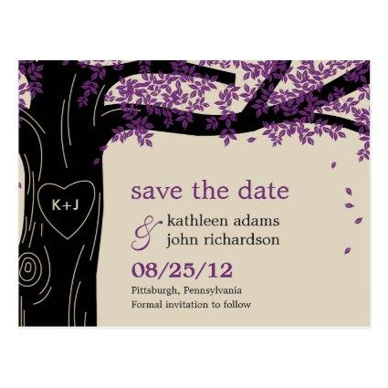 Oak Tree Purple Wedding