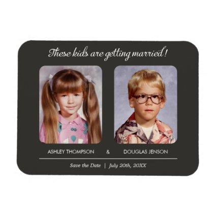 Old Photo Save the Date Magnets