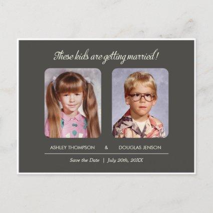 Old Photo Save the Date Cards