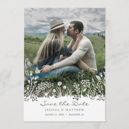 On the Prairie Save the Date Photo Cards