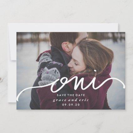 Oui | French Save the Date Photo Card