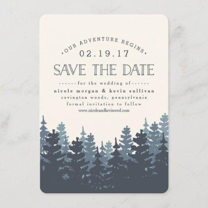 Our Adventure Begins | Save the Date