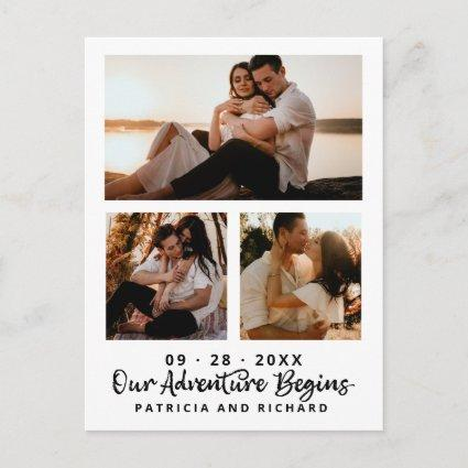 Our Adventure Begins Save The Date 3 Photo