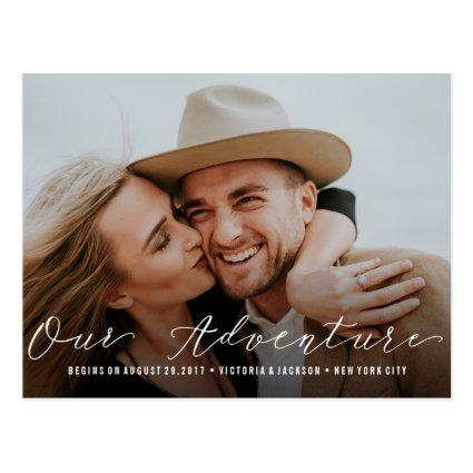 Our Adventure | Wedding   Photo Cards
