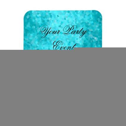 Party Event Teal Blue Glitter Shoes Magnet