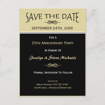 Party, Reunion, Event Save the Date Cards