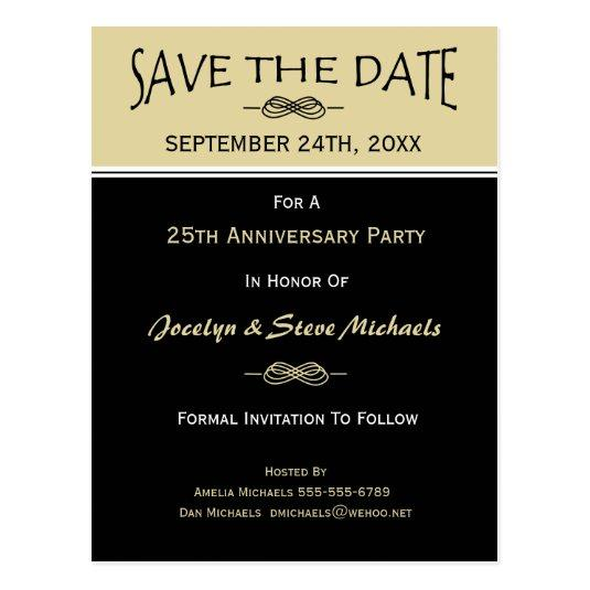 party reunion event save the date cards